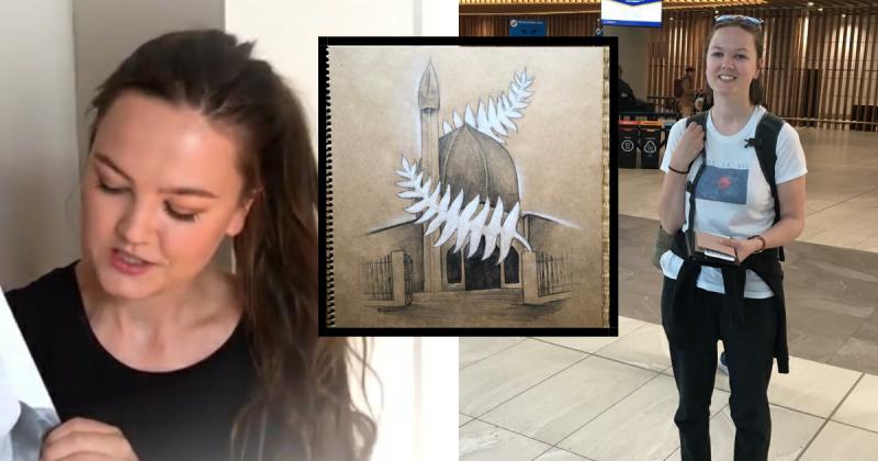 Tragedi New Zealand Update: Tragedi Christchurch, Pelukis NEW ZEALAND Ini 'Hadiahkan